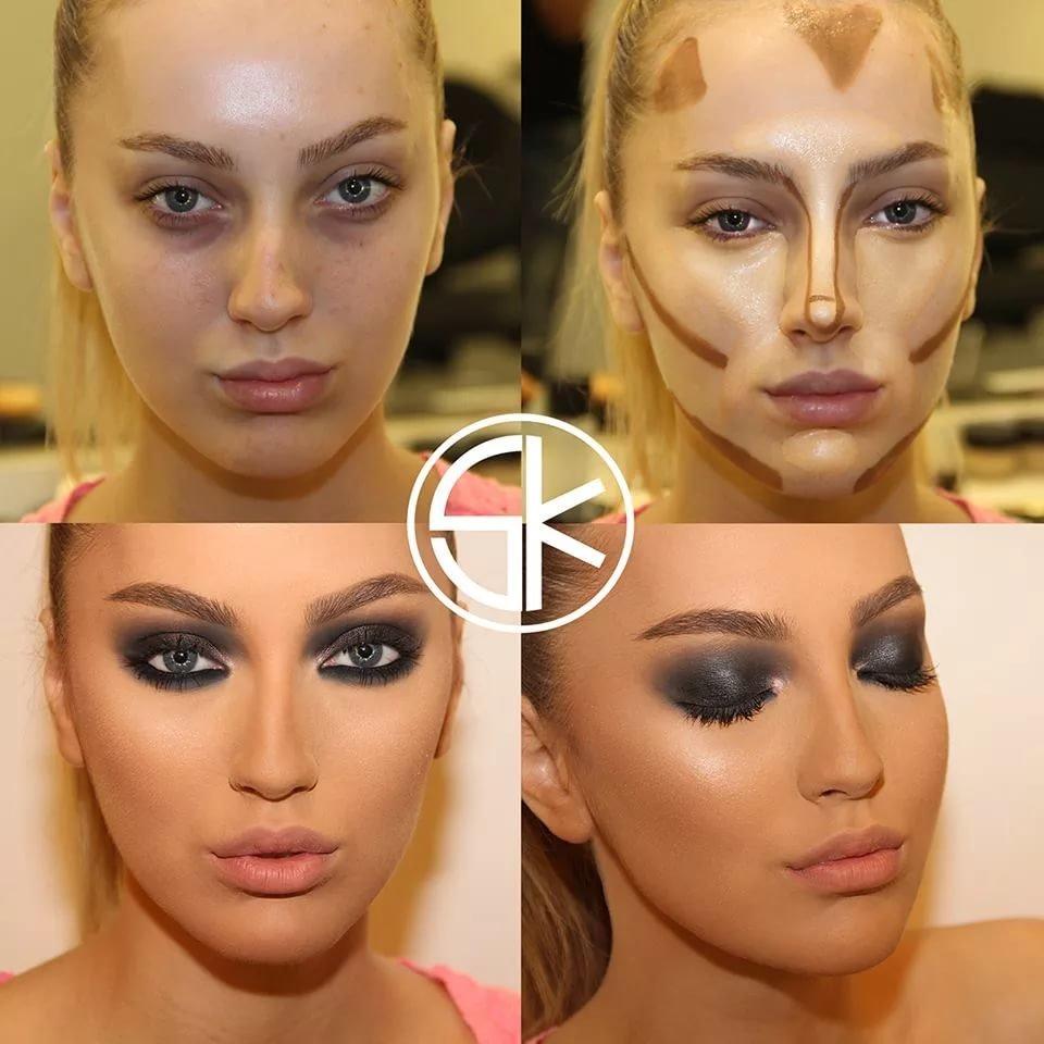 Как правильно наносить макияжа фото