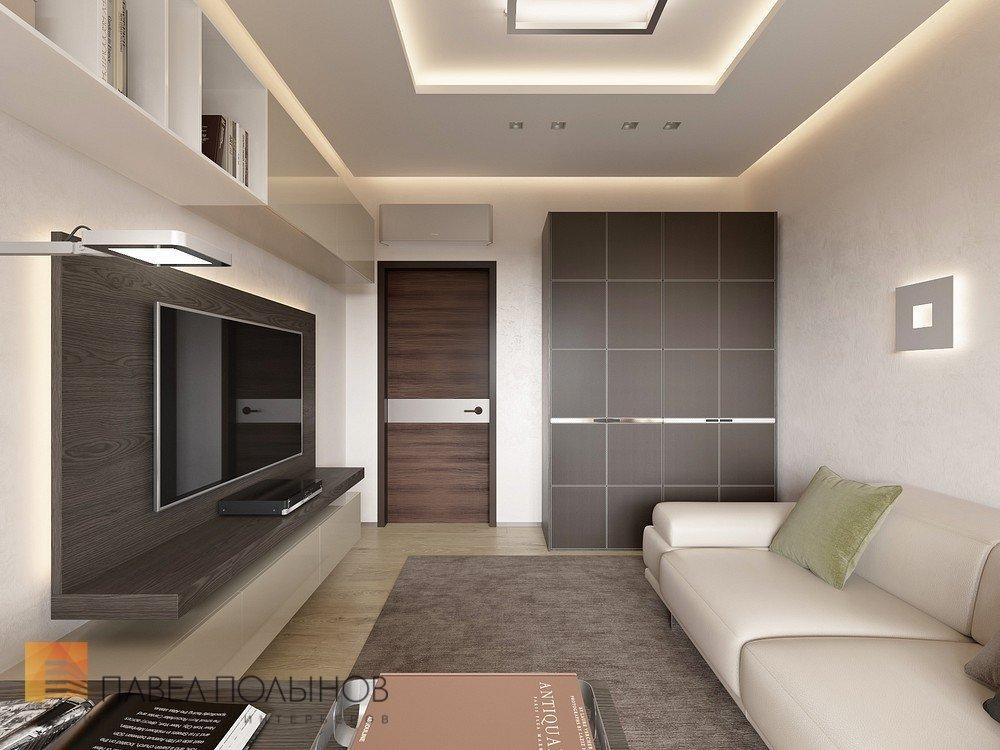 Интерьер спальни-гостиной 16 кв.м фото