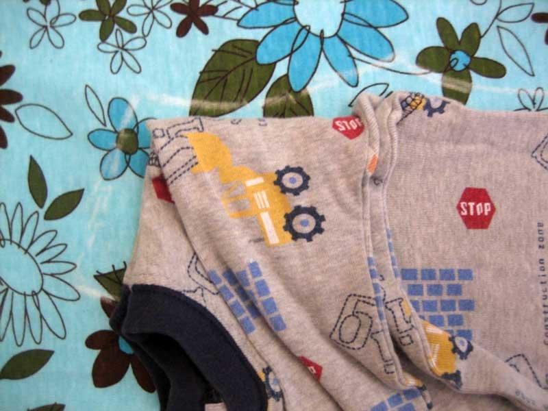 Из чего сшить пижаму для ребенка 80