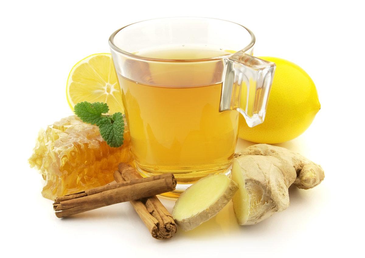 Чай с имбирный в домашних условиях 350