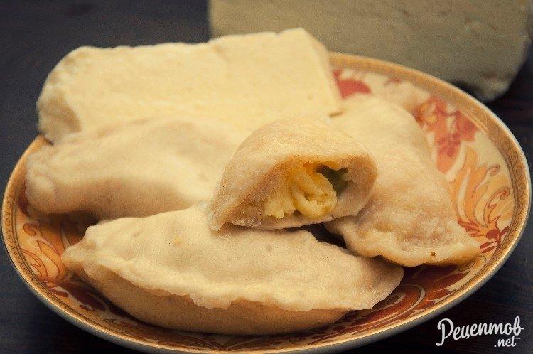 Вареники с адыгейским сыром рецепт пошагово