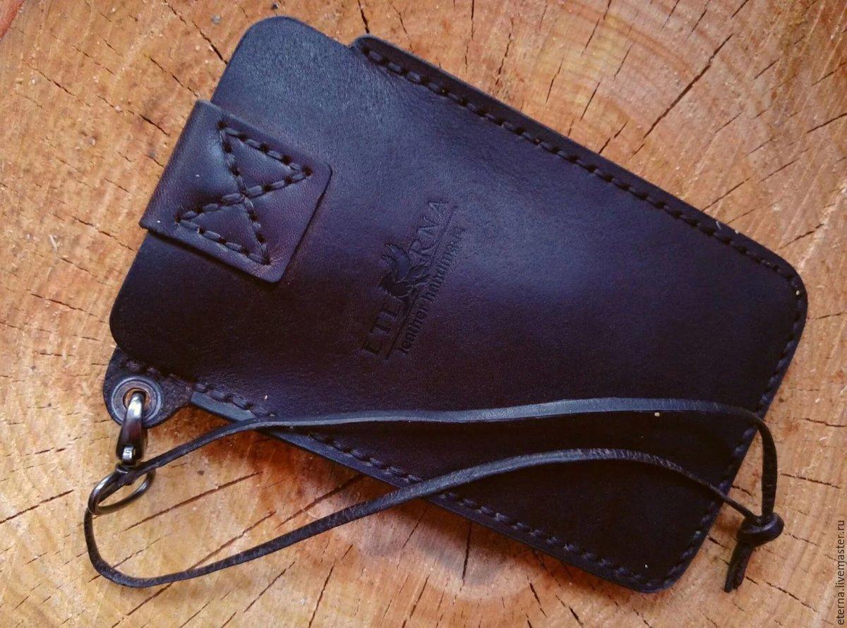 Мастер-класс по пошиву кожаного чехла для телефона (Iphone SE) 65