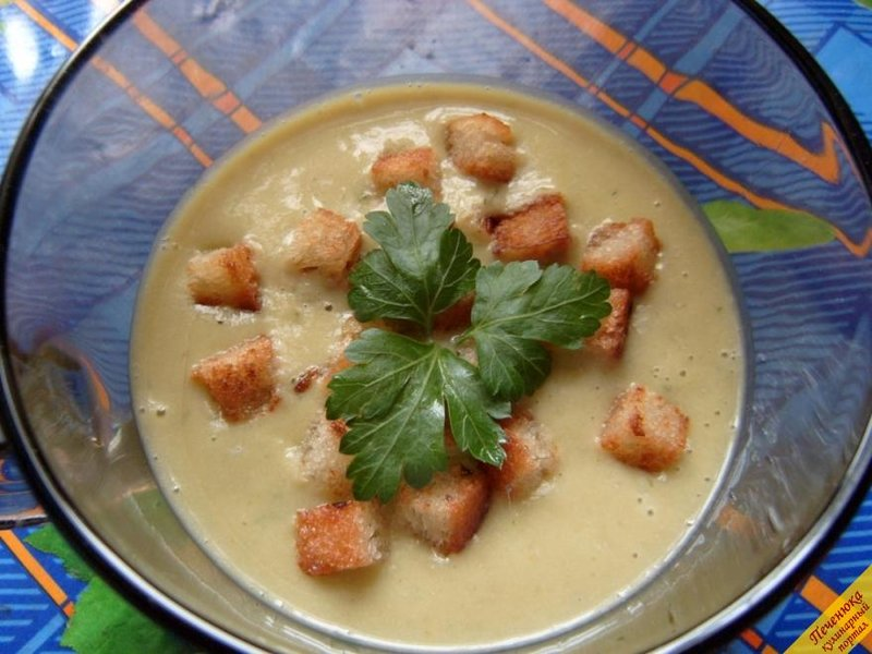 Суп пюре из брокколи пошаговый рецепт
