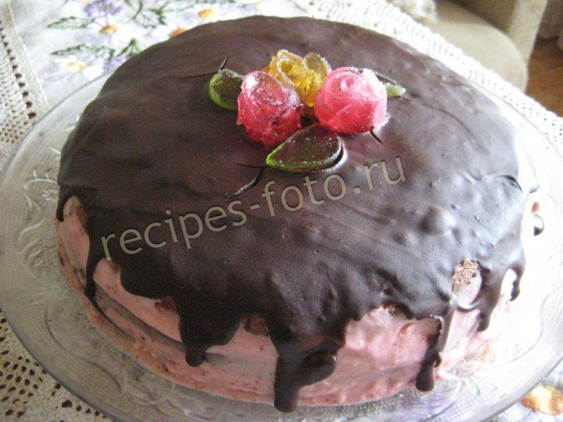 Рецепты тортов со сметаной в домашних условиях с пошаговым