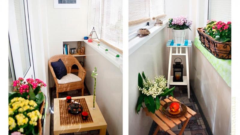 Интересные идеи балкона или лоджии.