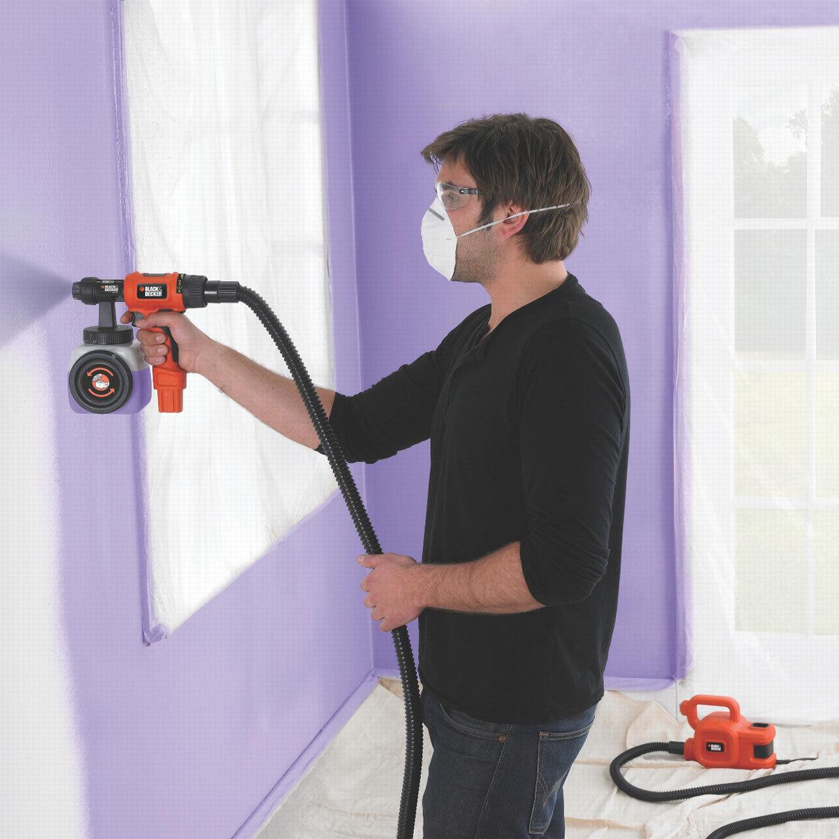 Краскопульт для покраски стен своими руками