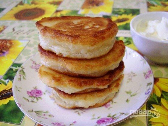 Оладушки на молоке рецепт с пышные на дрожжах рецепт с пошагово