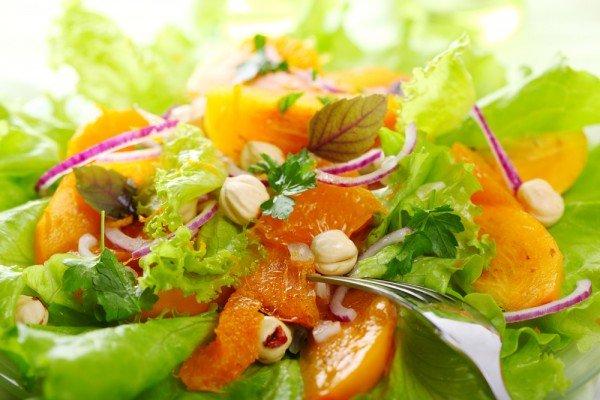 Рецепты постный салатов с