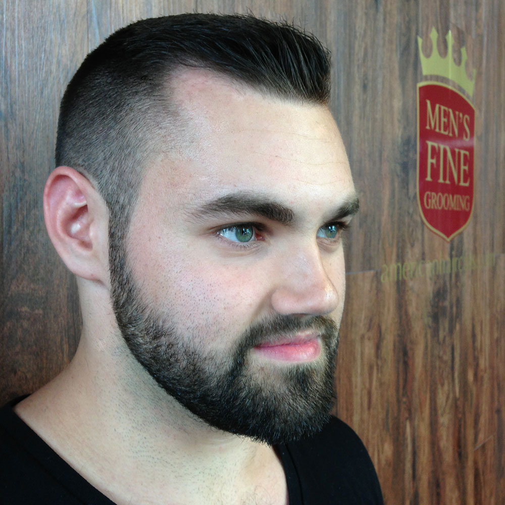 Борода под короткую стрижку