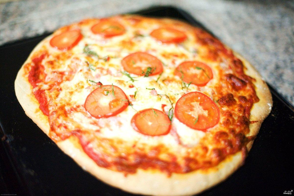 Пошаговый рецепт настоящей итальянской пиццы