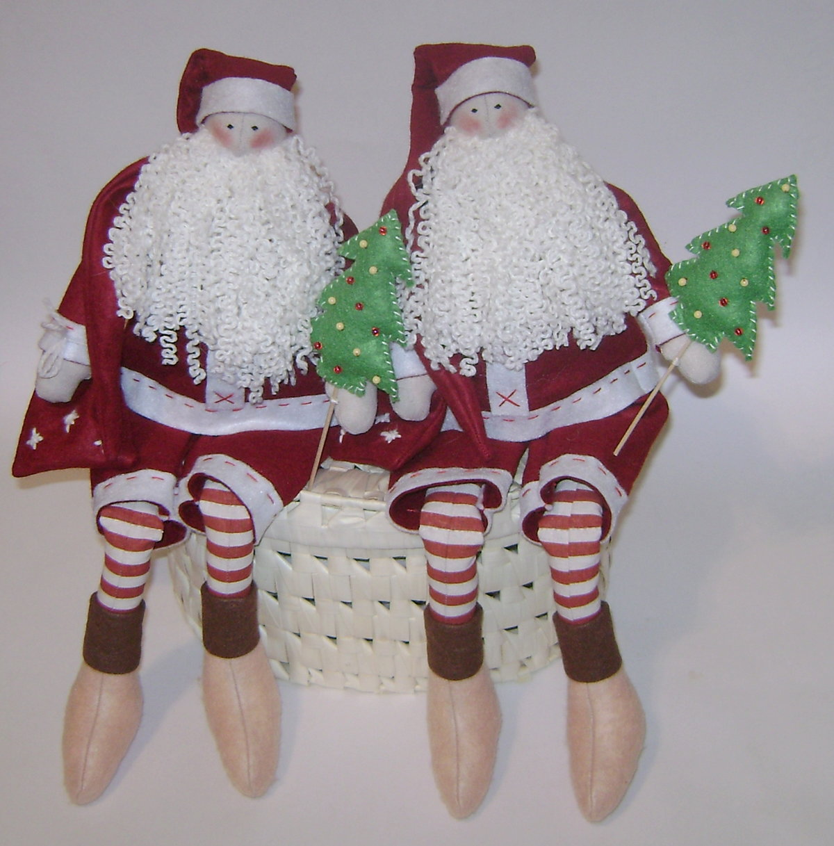 Дед мороз текстиль своими руками 1189