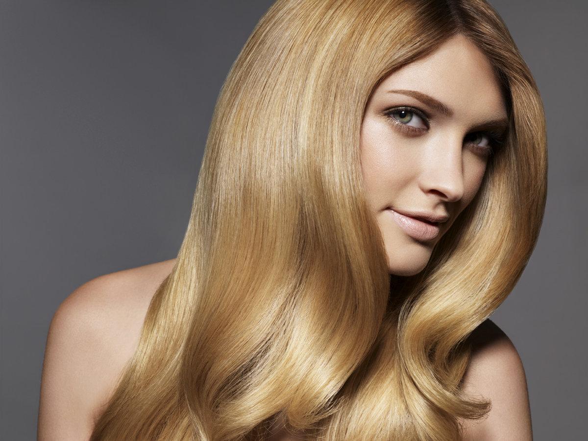 Как придать блеск волосам в 79