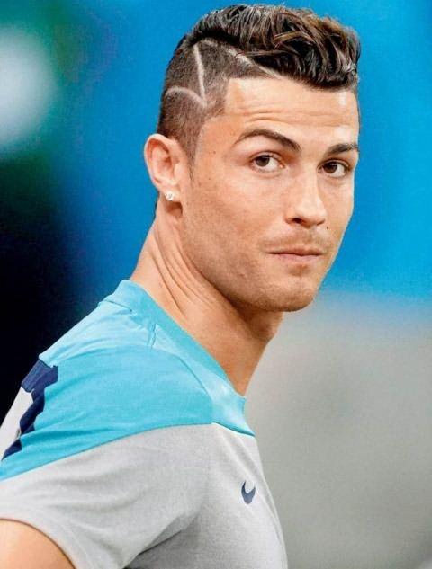 Как выглядит причёска у роналдо