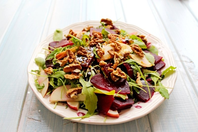 Фото грецкий салат