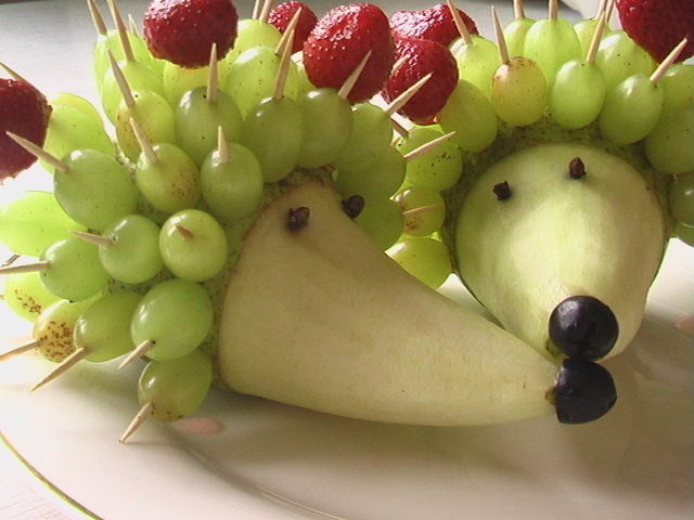 Делать своими руками из фруктов детям