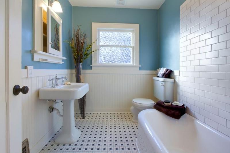 Ремонт ванной своими руками без плитки