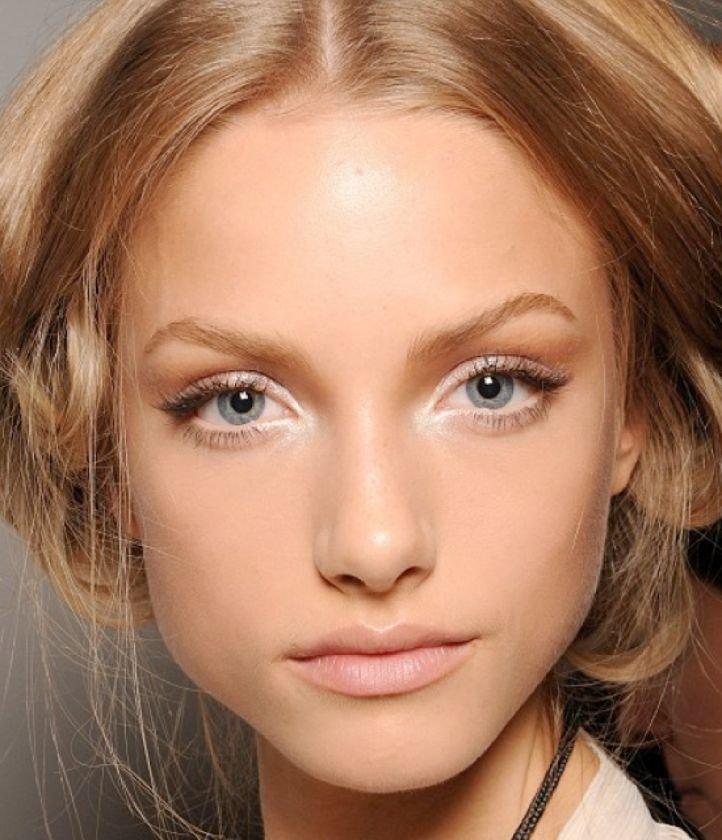 Красивые естественного макияжа