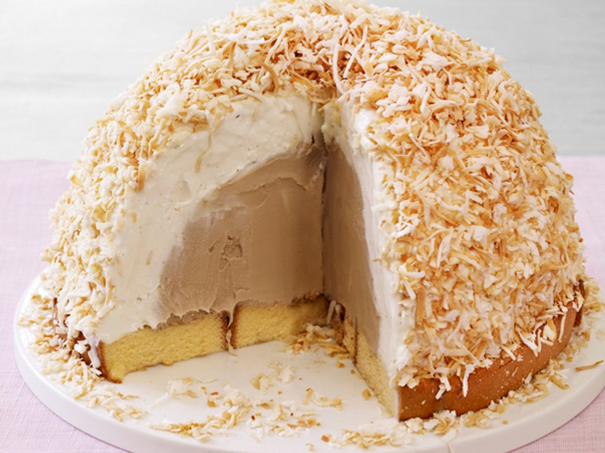 Как сделать торт из мороженого