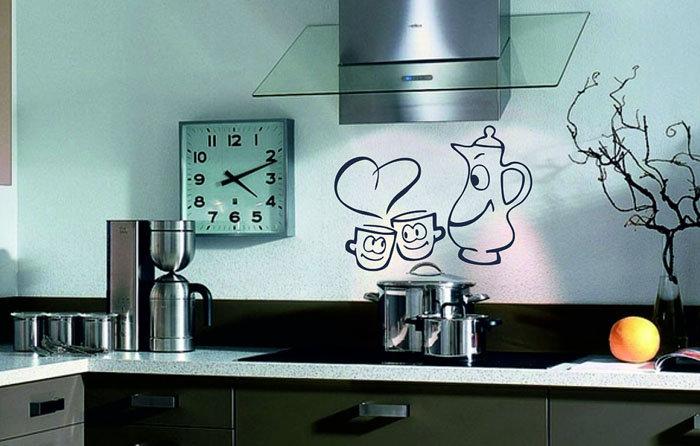 Дизайн стен на кухне: лучшие идеи по оформлению и обустройству на фото
