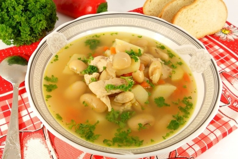 Суп с курицей в мультиварке пошаговый рецепт с фото