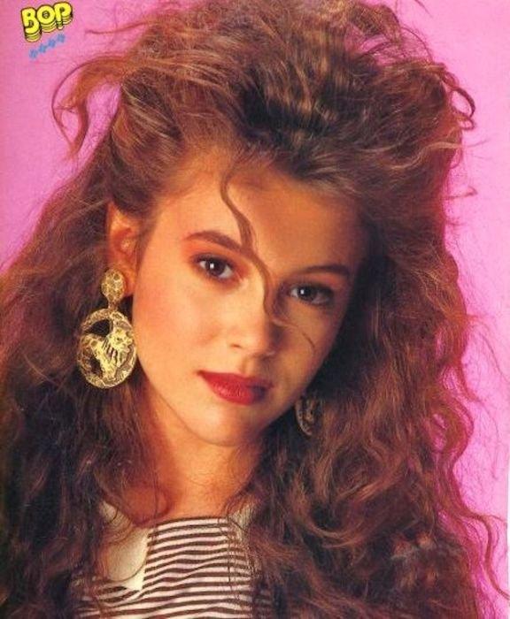 Прически 90-х годов девушки