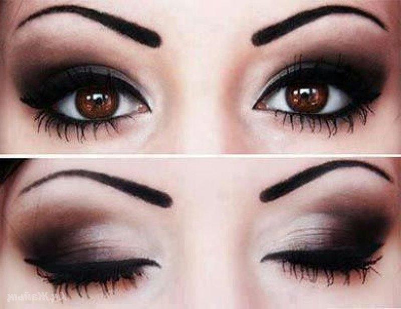 Какой подходит макияж для карих глаз