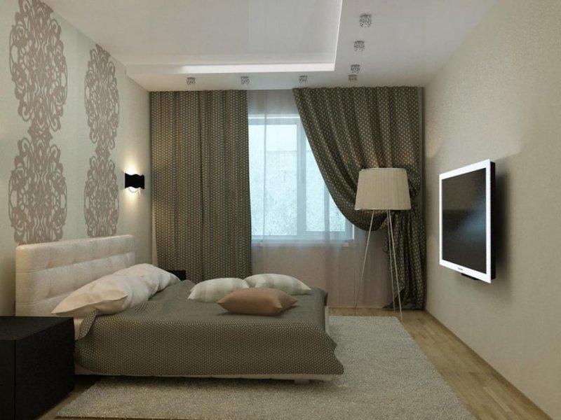 Дизайн комнаты 12 метров