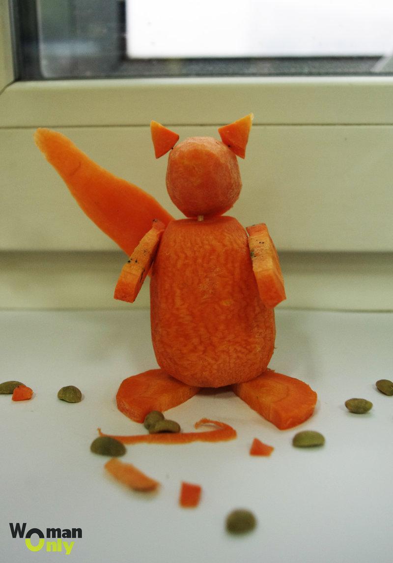 Поделки из морковки фото