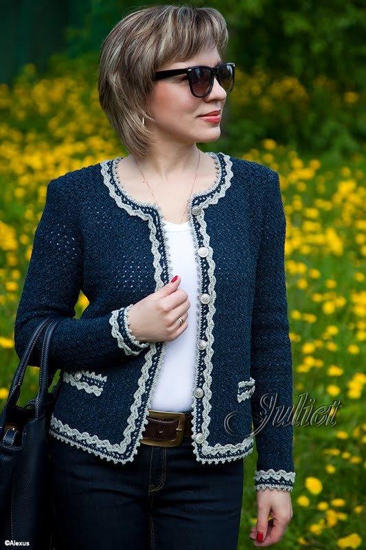 Шанель коко вязание