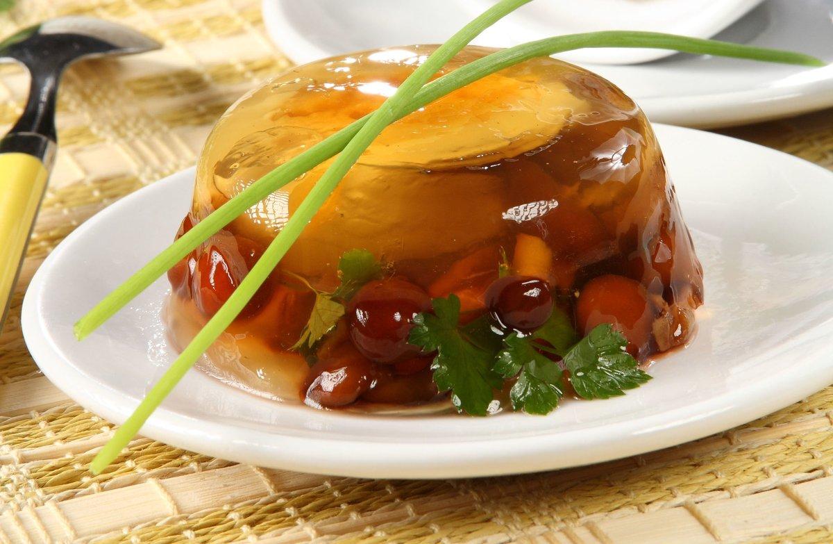 Фото рецепты заливное из грибов