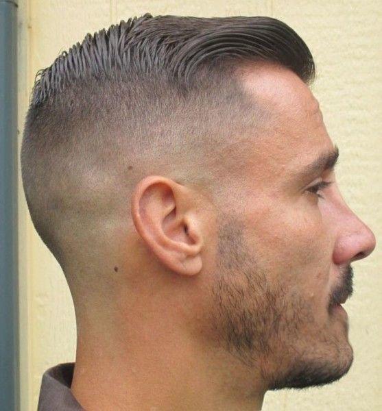 Короткая мужская стрижка шапочка с плавным переходом