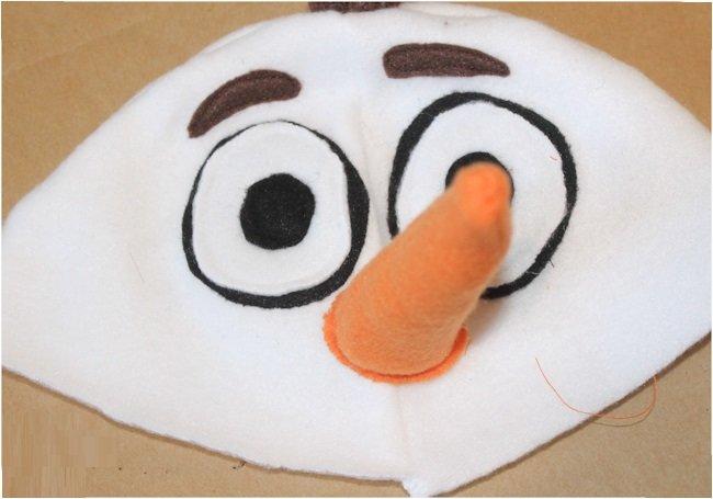 Как сшить шапку снеговика своими руками