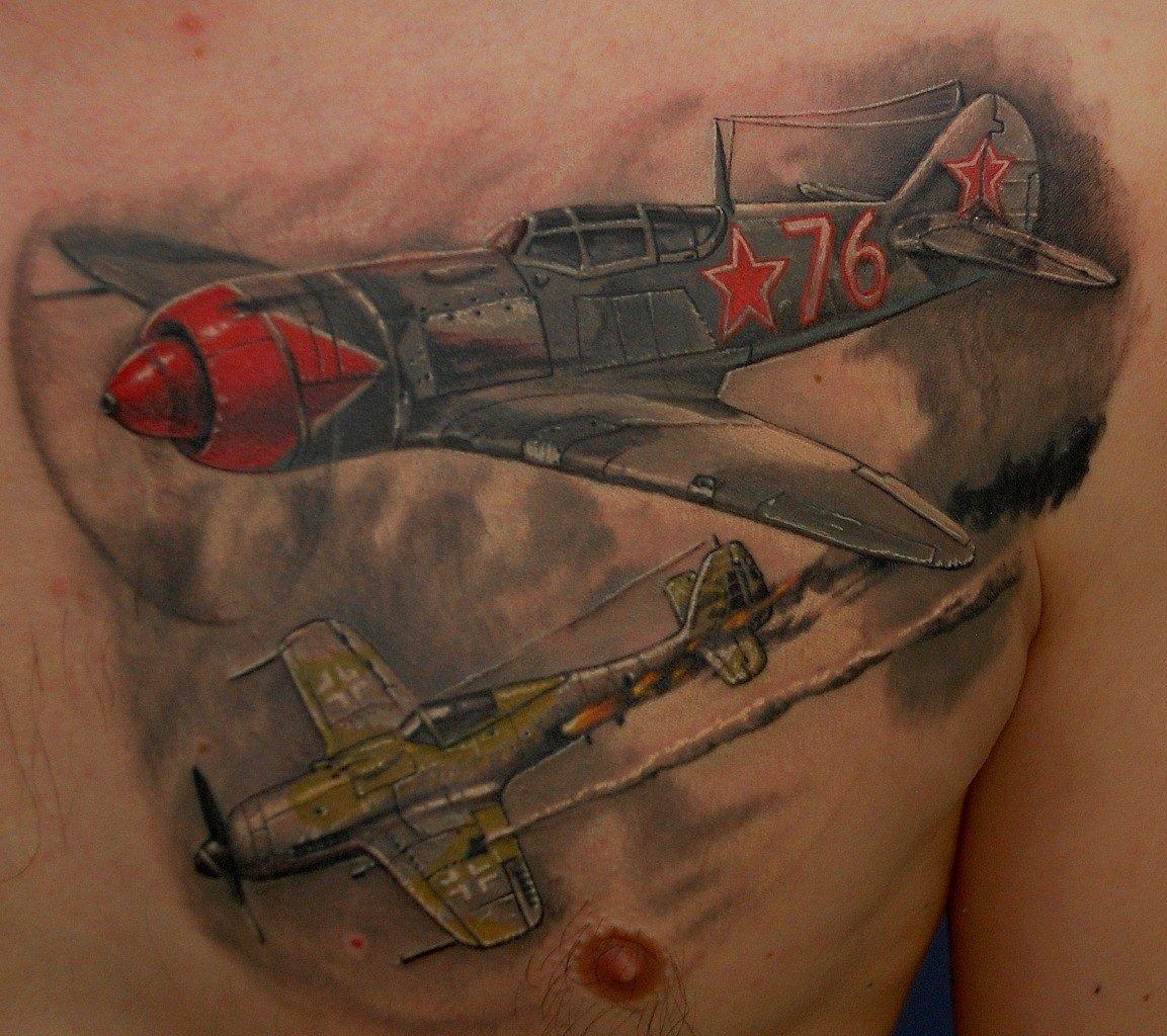 Татуировки фото мужские война