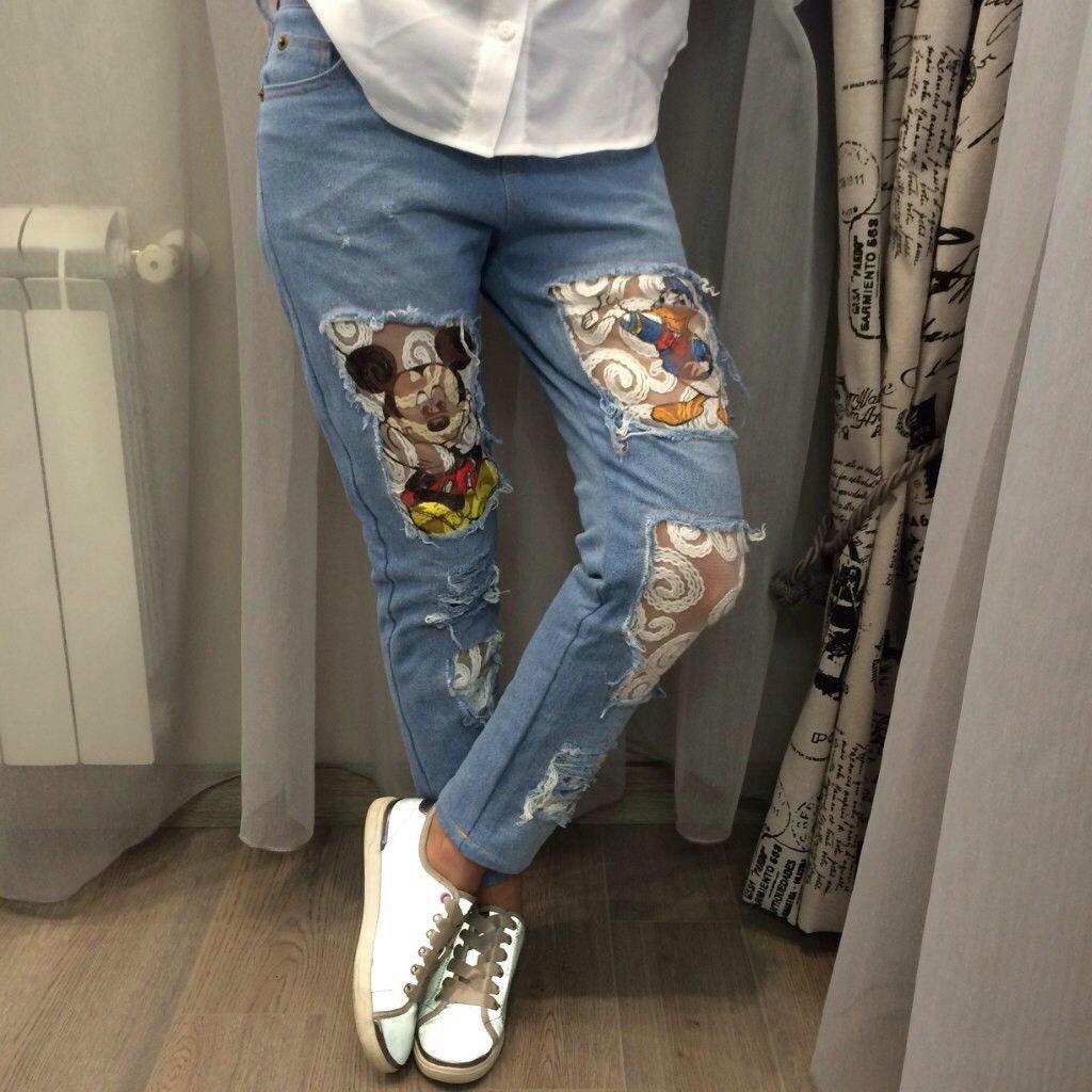 Рваные джинсы своими руками инструкция по применению