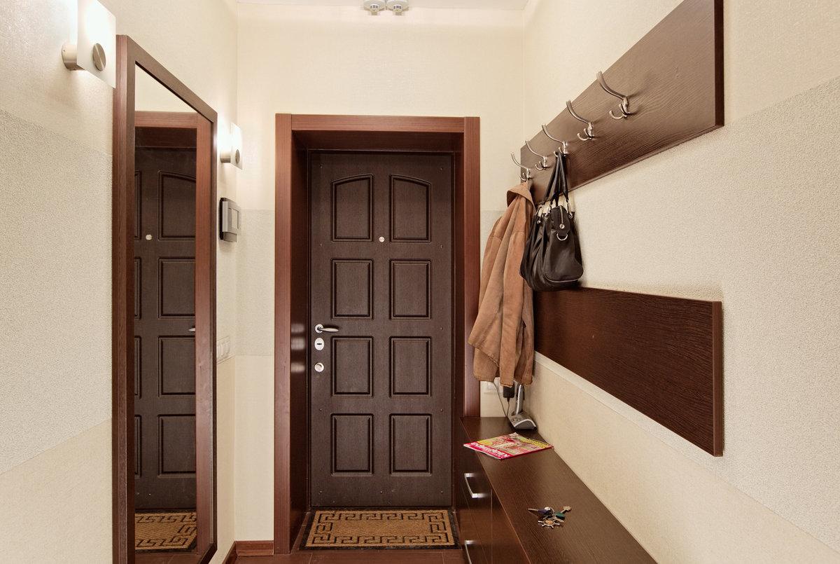 Дизайн очень узкого коридора в квартире реальные