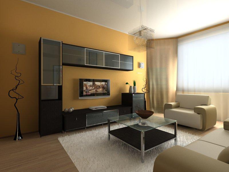 Варианты гостиной комнаты в квартире фото