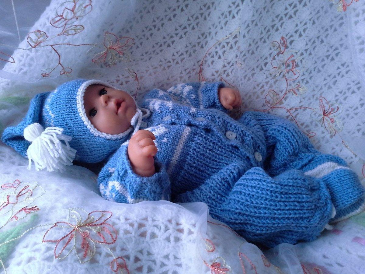 Своими руками вязание спицами для новорожденных