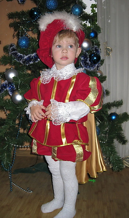 фото новогоднего костюма разбойника