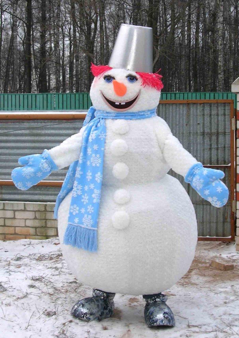 Ростовые куклы своими руками снеговик