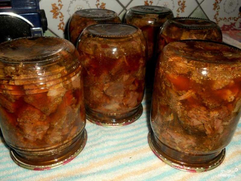 Тушенку из говядины в домашних условиях рецепт