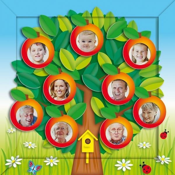 Как сделать генеалогическое дерево своими руками для детского сада