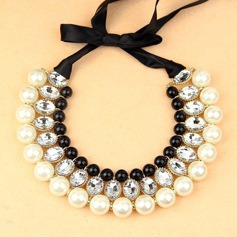 Ожерелье с бусинами своими руками фото 633