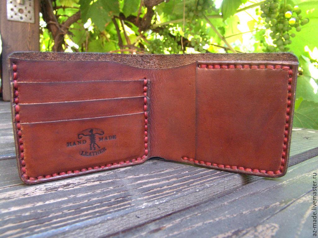 Кожаные портмоне своими руками фото 71