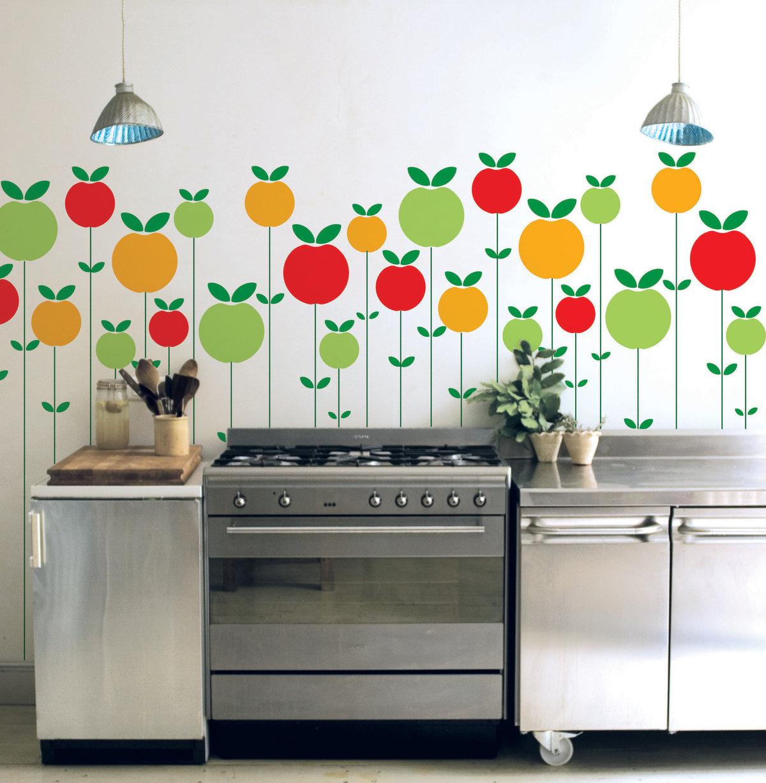 Трафареты на кухню своими руками