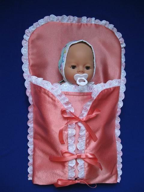 Как сшить конверт для куклы беби бон своими руками 53