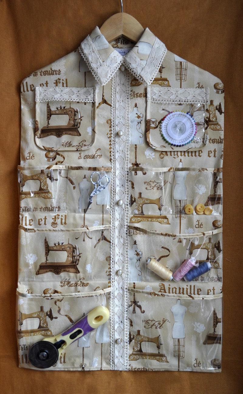 Органайзер своими руками из ткани органайзер для белья
