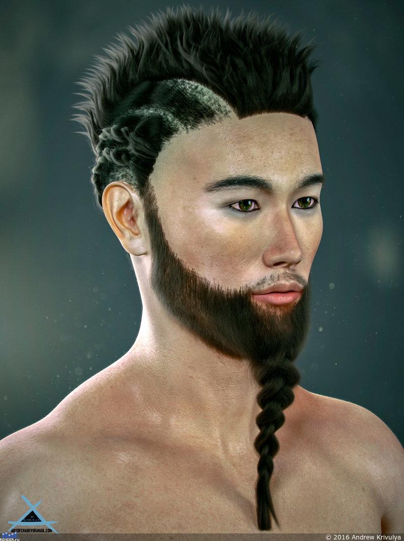 Фото мужских причесок для азиатов