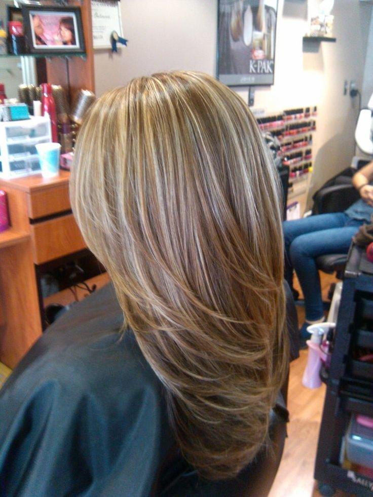 Прически и покраска волос на длинные волосы