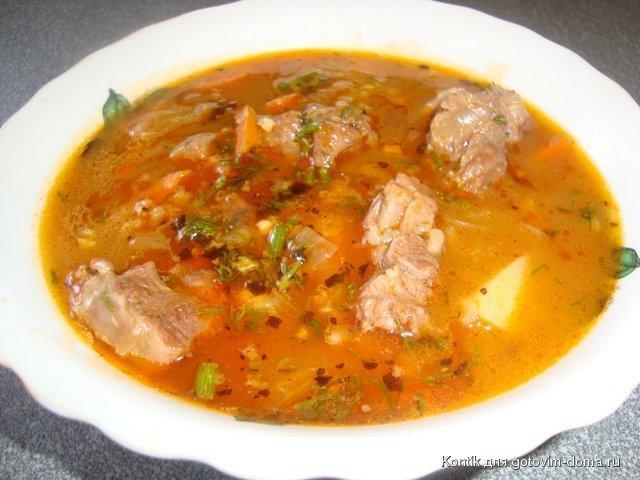 Суп харчо с бараниной рецепт классический