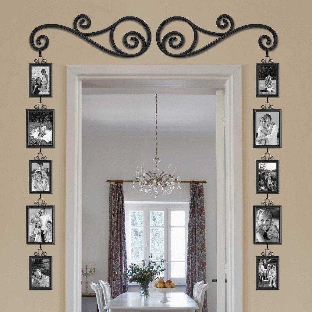 Как красиво оформить дверной проем без двери своими руками фото 50